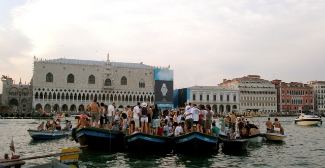 redentore boat festival in venice