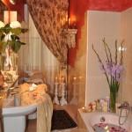 Bathtub with Modern Shower