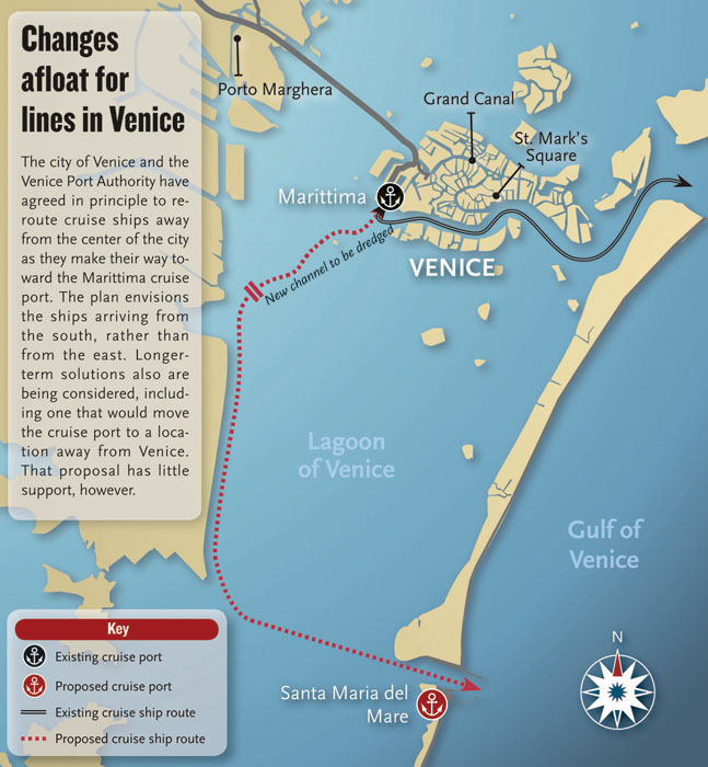 Possible Changes To Cruise Ship Docking In Venice - Cruise ships in venice port