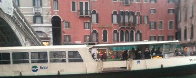 Venice Waterbus Transportation Strike