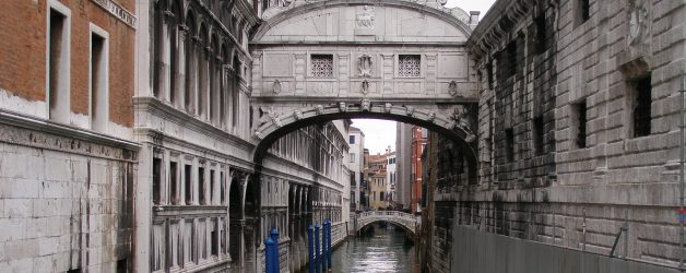 Bridge of Sighs in Venice Now Unveiled