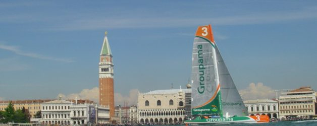 Venice sailing race for Americas Cup