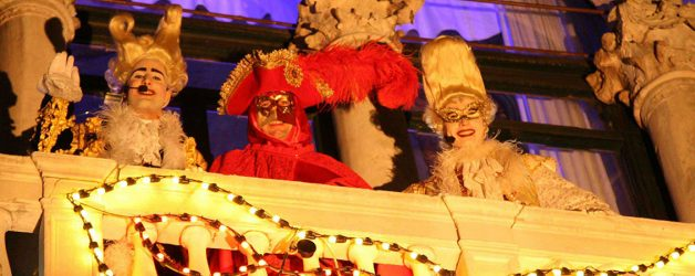 Venice Carnival Parties 2014