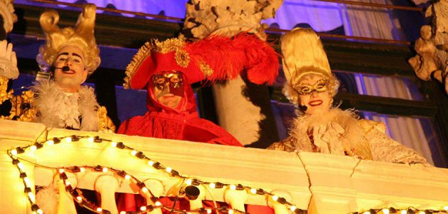 Venice Carnival Parties 2014