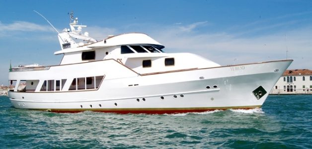 Luxury Yacht for Accommodation or Private Events in Venice