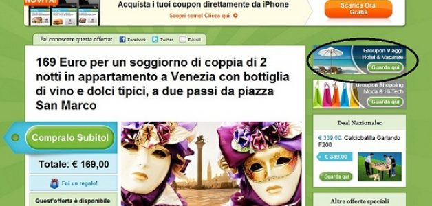 Use Groupon for Venice to Find Discounted Hotels