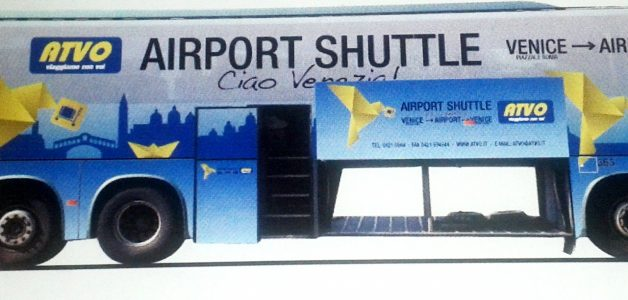 ATVO Express Bus Service to and from Marco Polo Airport of Venice